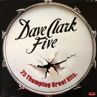 Dave Clark Five (The) - 25 Thumping Great Hits (LP) (VG-/G++)